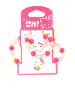 HELLO KITTY Набор бижутерии Sweet Summer 2 предмета, Зелен/розовый