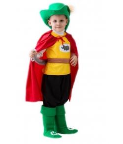 Детский карнавальный костюм - Кот в сапогах