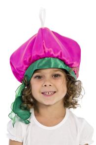Костюм редиски для девочки (шапочка) арт.106106104