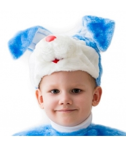 Шапка-кролик мальчик