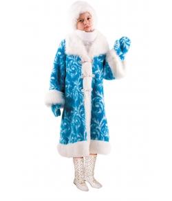 Костюм Снегурочка меховая детский