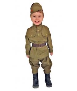 Детский костюм ВОВ солдат малыш 2-3 года