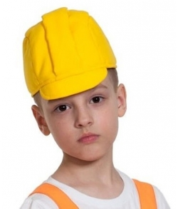 Каска строителя детская