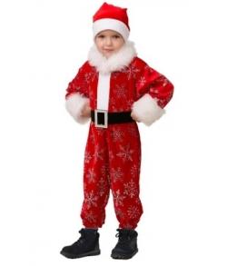 Костюм Новый годик детский красный