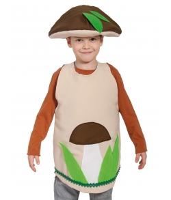 Костюм гриб Боровик в шляпе детский