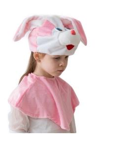 Костюм кролика для девочки (эконом)