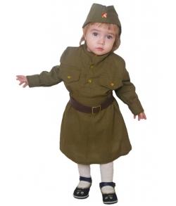 Военная форма солдаточки малютки 1-2 года