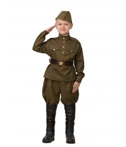 Костюм солдата с галифе детский