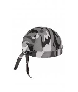Детская военная бандана цвет серый кмф