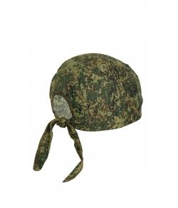 Детская военная бандана цвет цифра зеленый