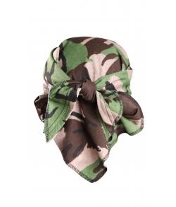 Детская военная косынка цвет кукла зеленая