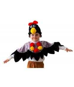 Костюм вороны в детский сад (цвет черный)