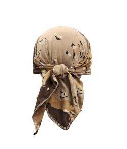 Детская военная косынка цвет буря в пустыне