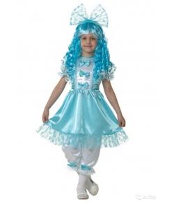 Детский костюм Мальвина (текстиль) 7025