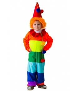 Детский костюм Клоун Радуга