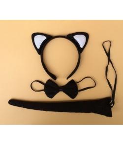 Карнавальный набор Кошка ушки, хвостик, бабочка
