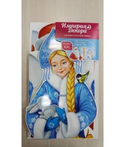 """Оформительский набор """"Дед Мороз и Снегурочка"""""""
