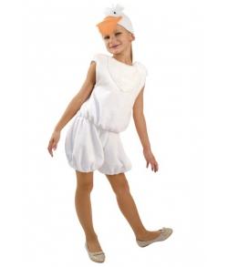 Костюм гусенок белый детский