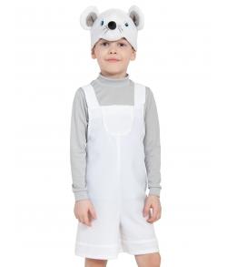 Костюм детский Мышонок белый