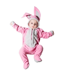 Малышка Зайка розовый