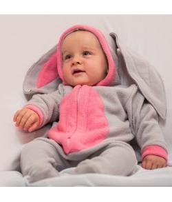 Малышка Зайка серый