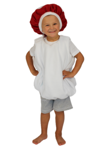 Детский костюм мухомора