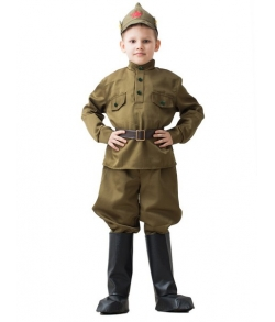 Детский костюм ВОВ Буденовец 5-7 лет