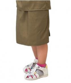 Детская военная юбка 3-5 лет