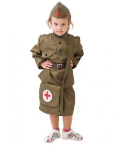 Детский костюм военной медсестры 8-10 лет  арт. BOK2296