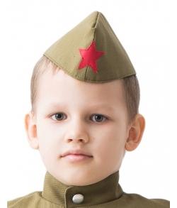 Пилотка солдата детская