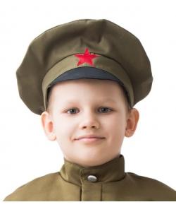 Детская военная фуражка 56 см