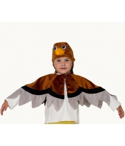 Детский костюм воробья (цвет коричневый)