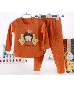 Пижама Tong Tai утепленная с штанишками без разреза