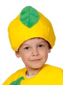Шапочка детская Лимон