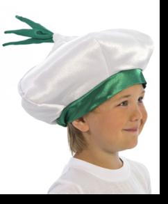 Чеснок шапочка детская