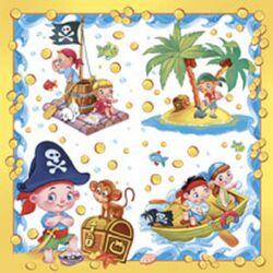 "Набор салфеток ""Пиратская вечеринка"" (12 шт.)"