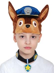 Костюм детский Гончик Чейз Щенячий патруль  (маска, ошейник, бейдж)