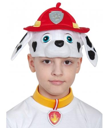 Костюм детский Маршал (Щенячий патруль) (маска, ошейник, бейдж)