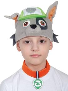 Костюм детский Рокки (Щенячий патруль) (маска, ошейник, бейдж)