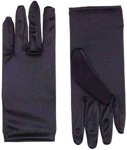 Перчатки черные детские
