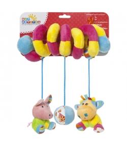 Колготки капроновые Hello Kitty бело-бежевые