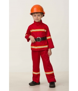 Костюм пожарного детский
