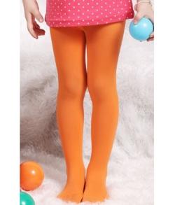 Колготки капроновые оранжевые детские