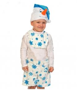 Костюм Снеговик с манишкой детский