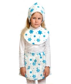 Костюм Снежинка с манишкой детский