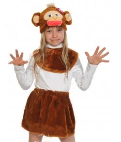 Костюм обезьяны для девочки