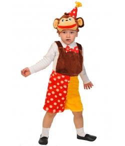 Костюм Обезьяна шимпанзе из цирка детский