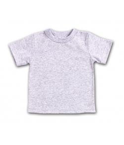 Детская футболка светло-серая