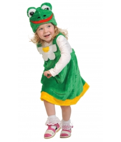 Костюм Лягушка плюш детский