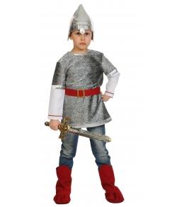 Костюм Богатырь Алеша текстиль детский